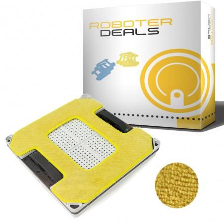 Microfaserpad (1 Stück) in gelb für alle Hobot Square Fensterputzroboter Modelle