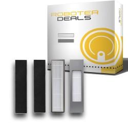 Feinstaub Filter mit Filterschutz (2 Stück) für Ecovacs Deebot OZMO 950 / 920