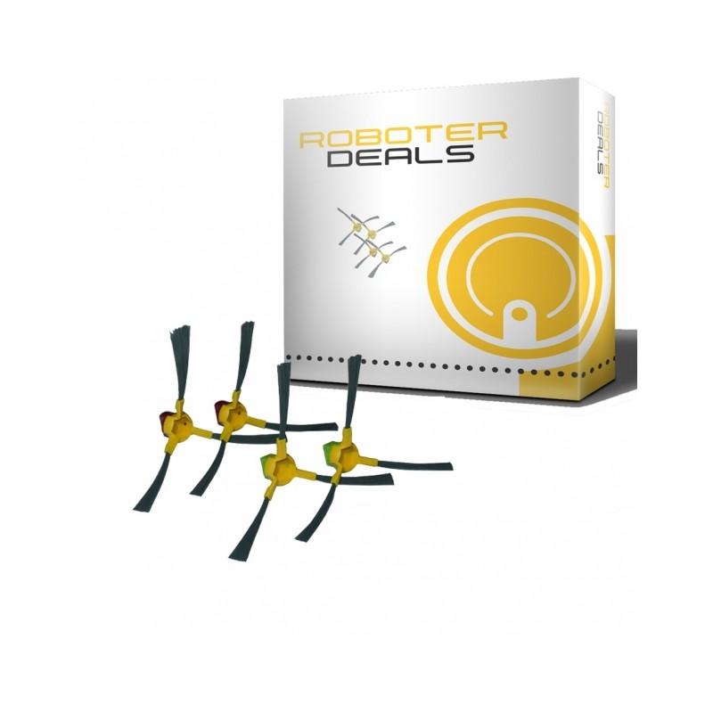Seitenbürsten (4 Stück) für Ecovacs Deebot D77/ D79