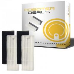 Feinstaub Filter (2 Stück) für ZACO / ILIFE A10 Saug-Wischroboter