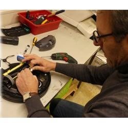 Innenreinigung der Komponenten für alle Staubsaugroboter inkl. Verschleißteile Check