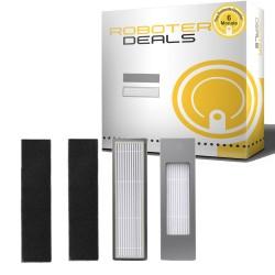 Feinstaub Filter mit Filterschutz (2 Stück) für Ecovacs Deebot OZMO 610