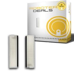 Feinstaub Filter mit Filterschutz (2 Stück) für Ecovacs Deebot OZMO Slim 10