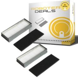 Feinstaub Filter (2 Stück) für Ecovacs Deebot M88 (D-S672)