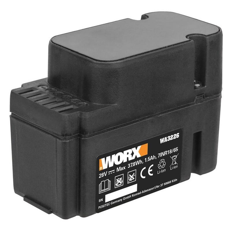 Original Li-Ion für Worx Landroid M Modelle bis Bj. 2018 (WG754E)
