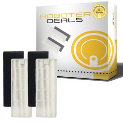Feinstaub-Filter (2 Stück) für ILFE / ZACO A4, A6, A8 Modelle