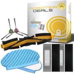 Zubehör Set für Ecovacs Deebot N8, N8 Pro (2x Pad, 2x Filter, 2x Seitenbürsten, 1x Hauptbürste)
