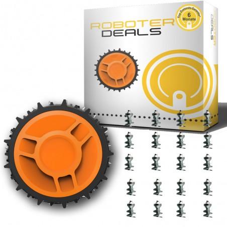 Edelstahl-Spikes (40 Stck. + Montage Werkzeug) für alle Worx Landroid Rasenmähroboter