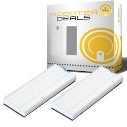 Feinstaubfilter mit Filterschutz (2 Stück) für 360 S6 Staubsaugroboter